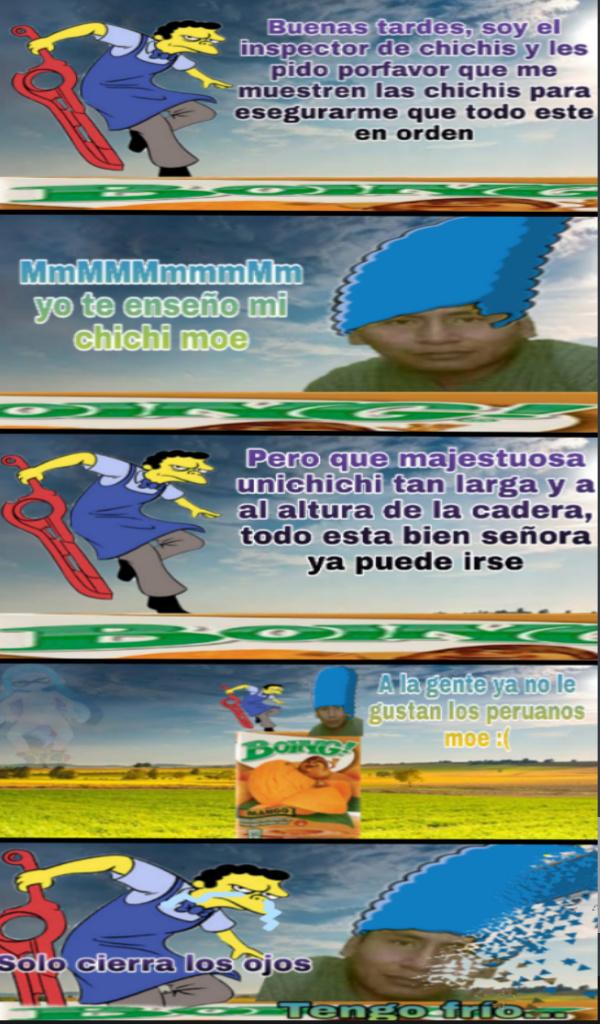 Bastardos ese peruano tenía 4 meses de embarazo - meme