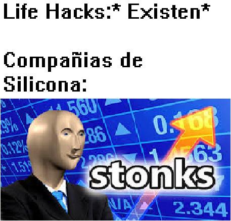 Que se yo si es silicon o silicona, bah no importa :-: - meme