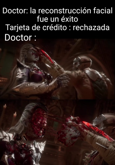 Gracias doctor Baraka - meme
