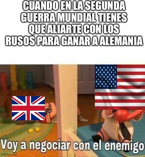 2 Guerra mundial - meme