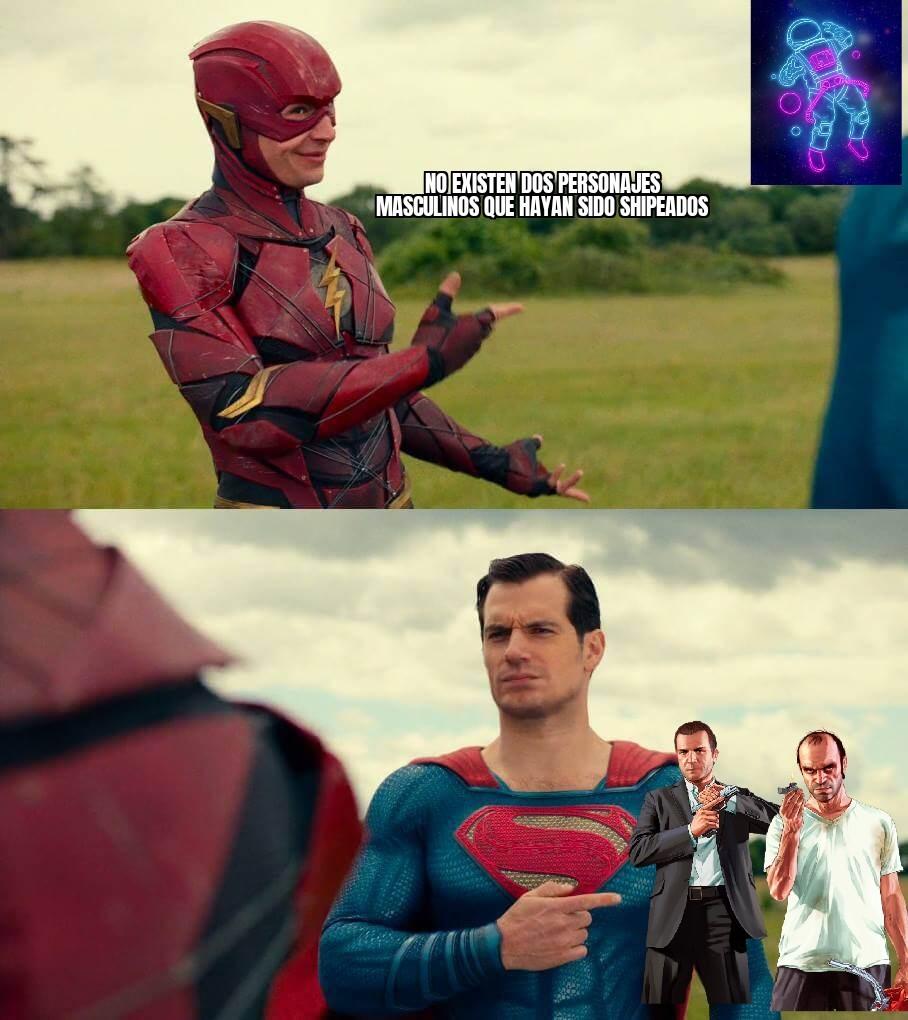 Espero que ninguna fujoshi lo vea - meme