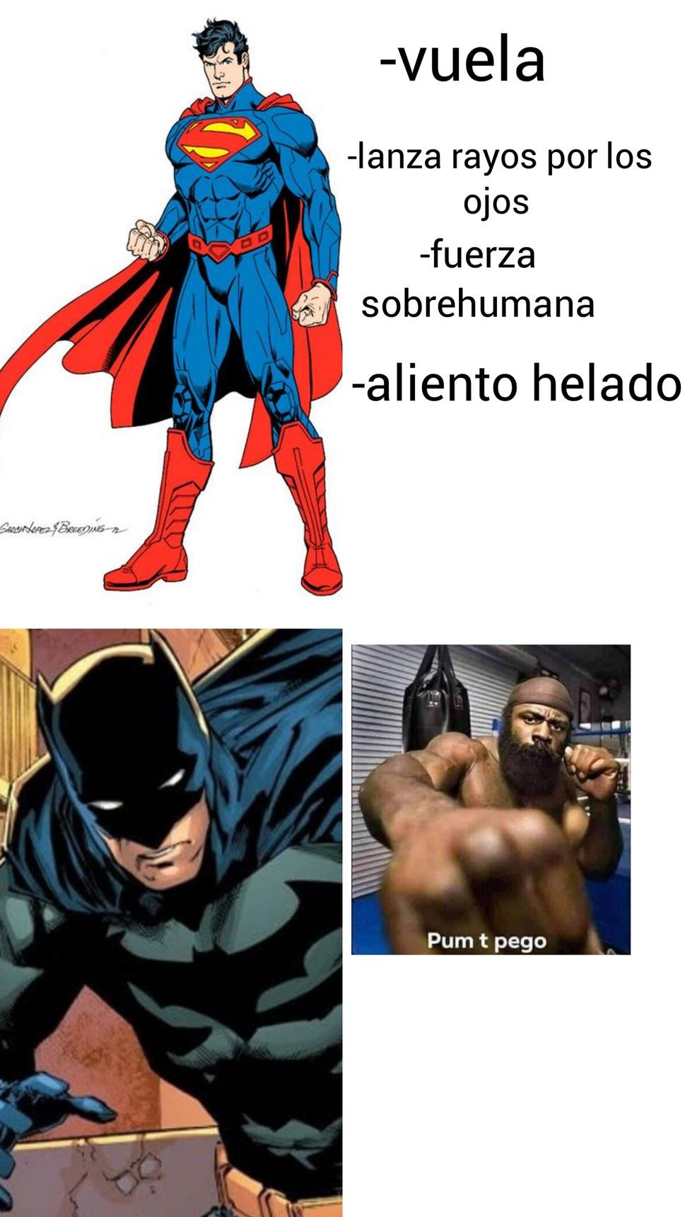igual prefiero a Batman es un crack - meme