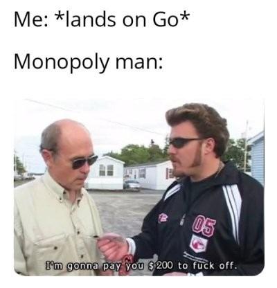 Just go - meme