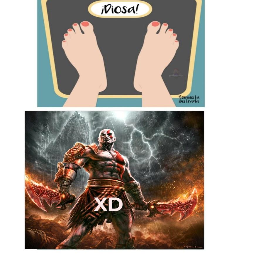 kratos - meme