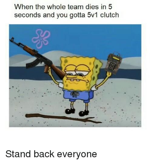 CSGO Clutch - meme