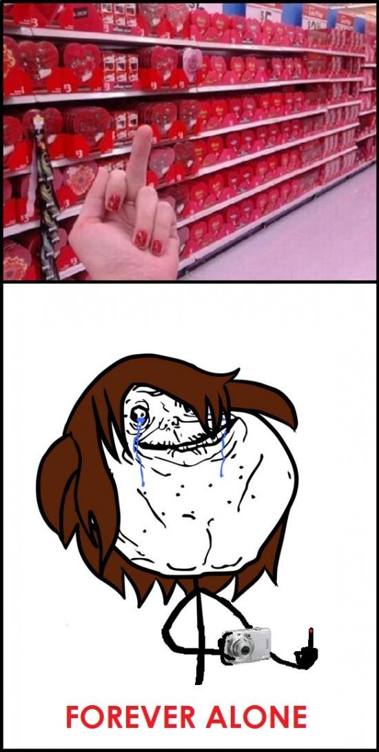 Odia san Valentín - meme