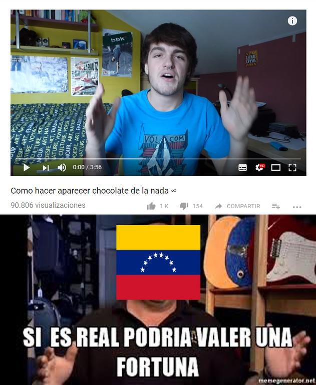 Solo es humor, apoyo a venezuela<3 - meme