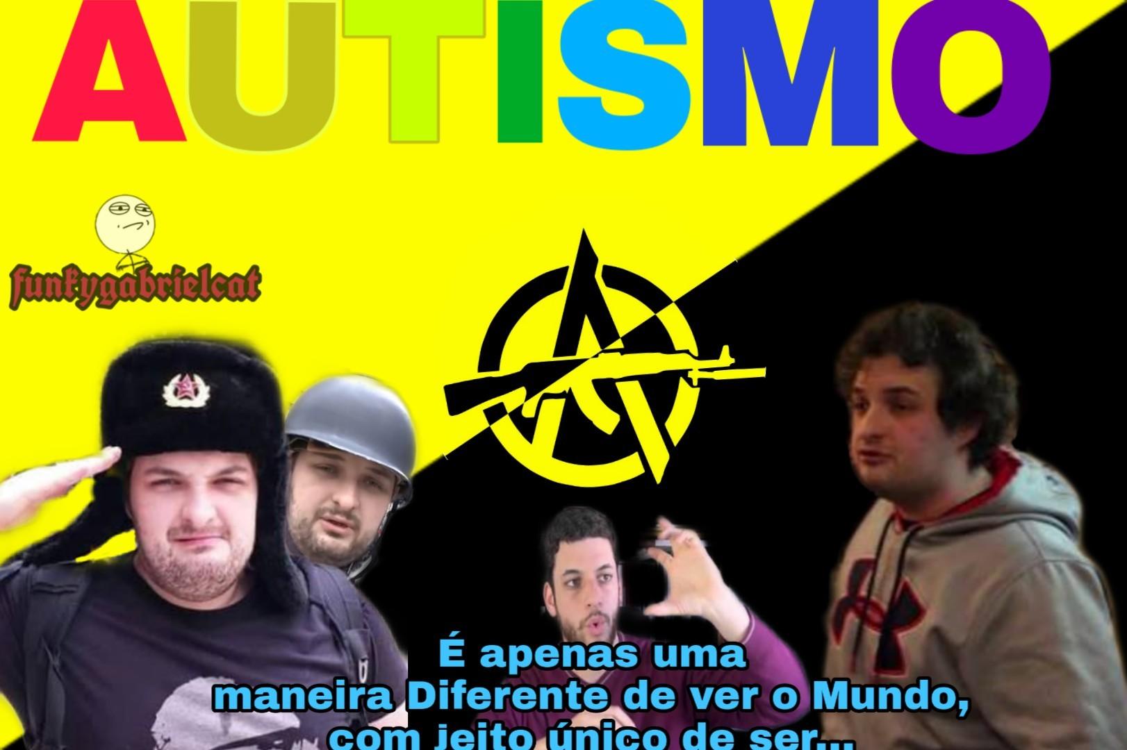 Mês mundial de combate ao autismo - meme