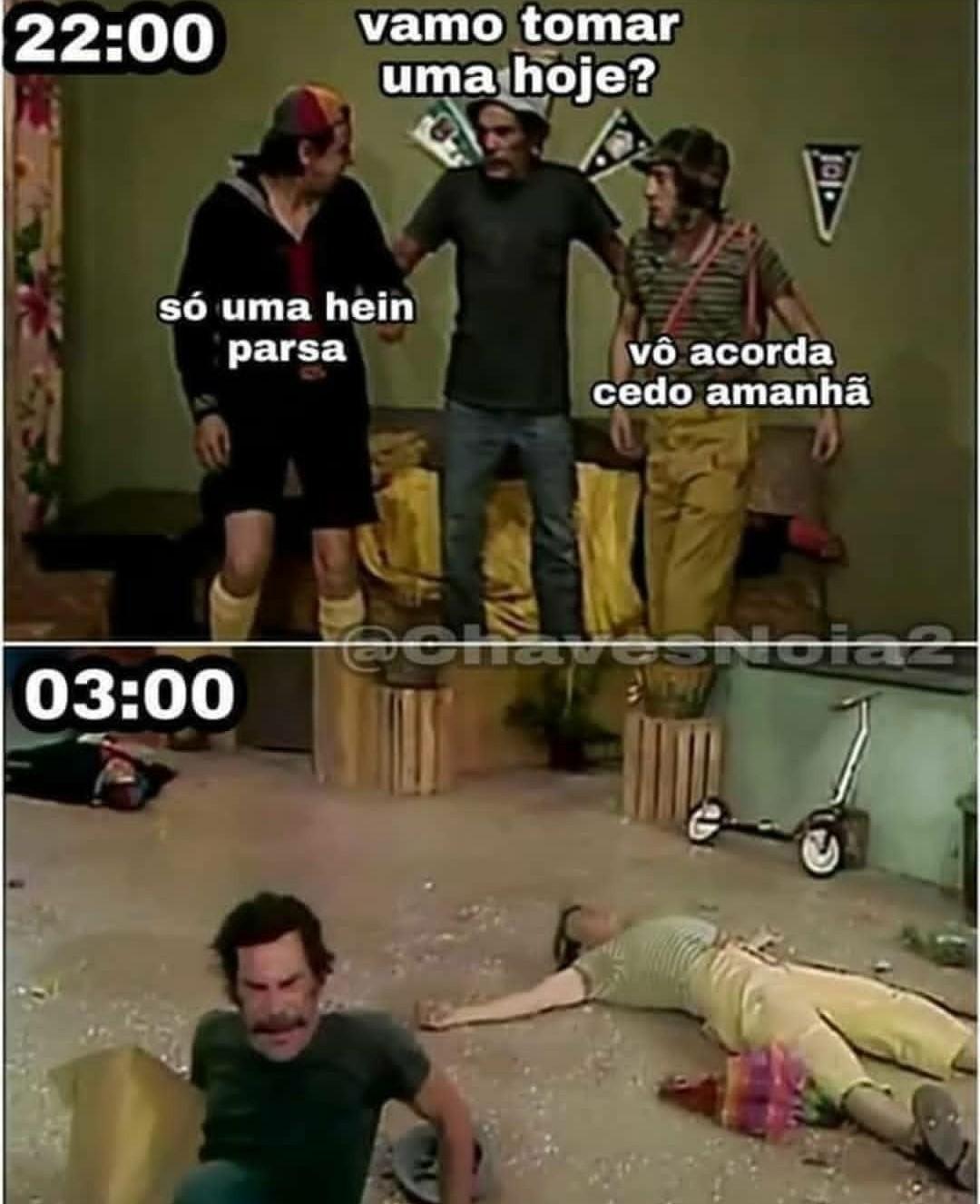 Turma chavosa - meme