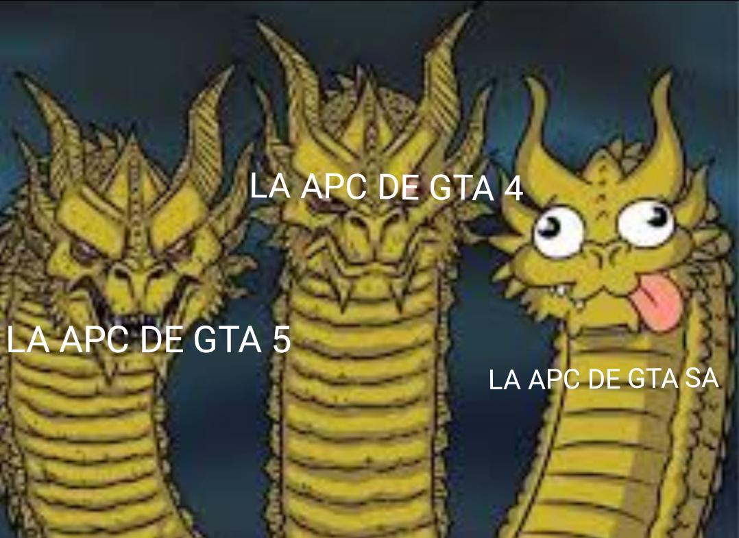 La app de GTA sa es...una mi**** - meme