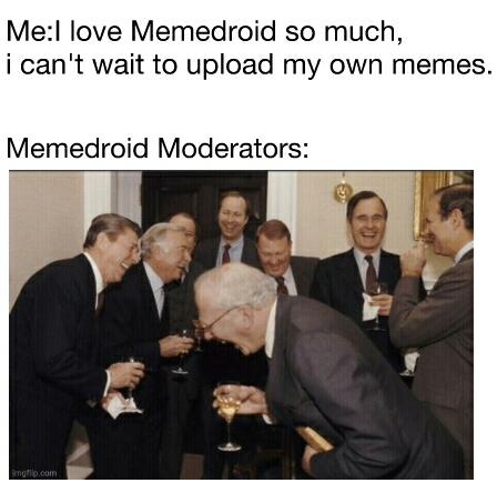 Stop laughing at me - meme