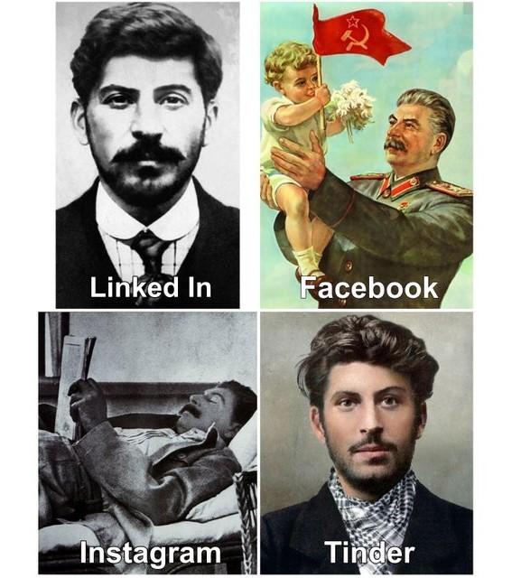 Stalin bonitão - meme