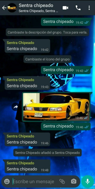 Sentra chipeado - meme