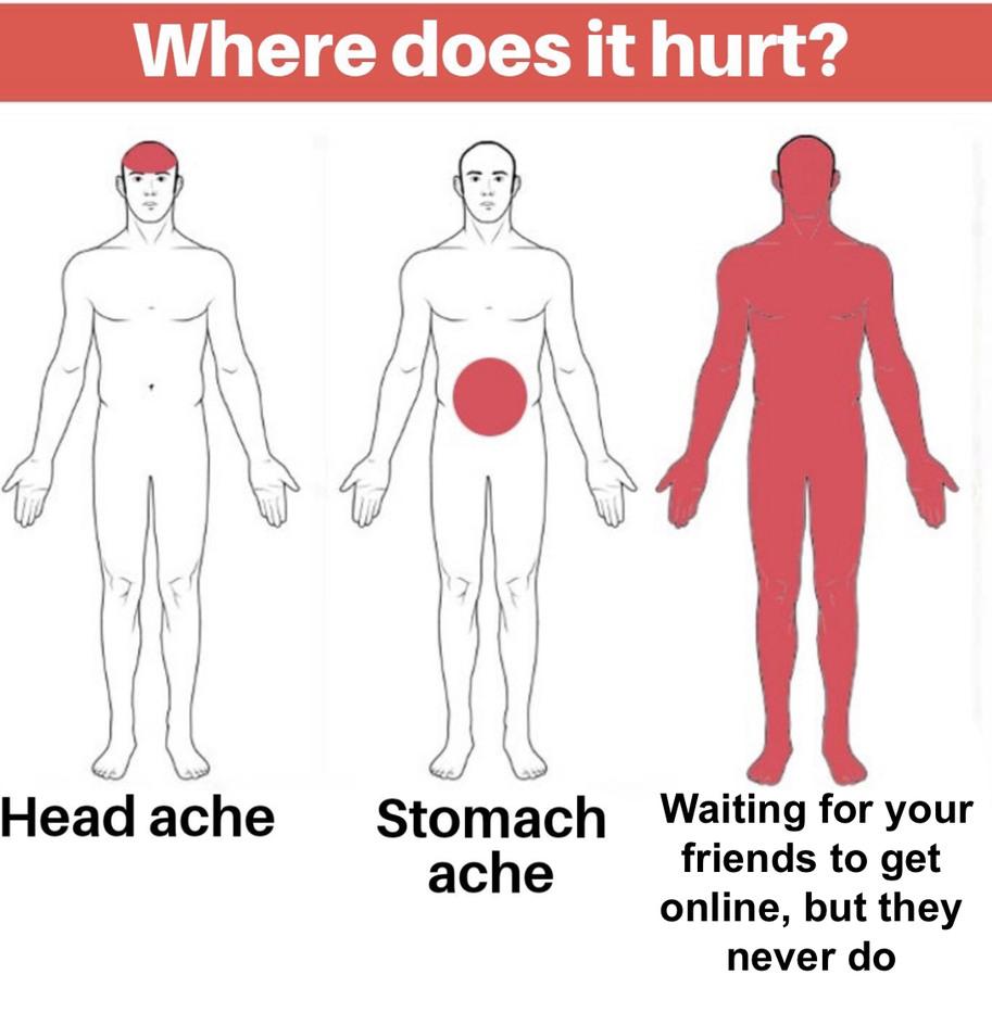It hurts - meme