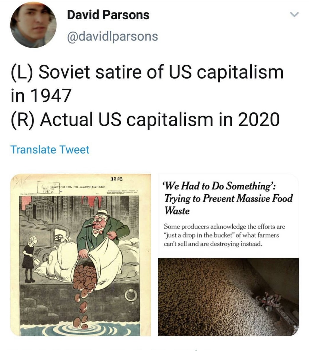 """""""not real capitalism"""" and """"crony capitalism"""" in the comments - meme"""