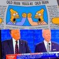 Orange man bad, Blue man bad