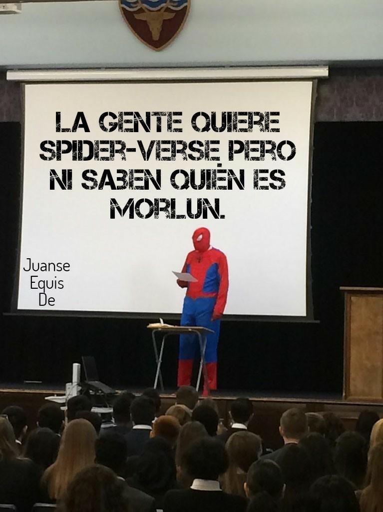 Güei zi eSpaIderBerZ - meme