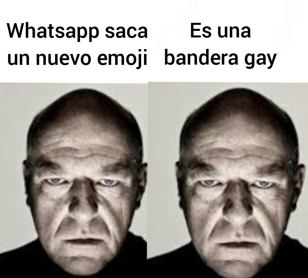 Putos emojis y putos gays - meme