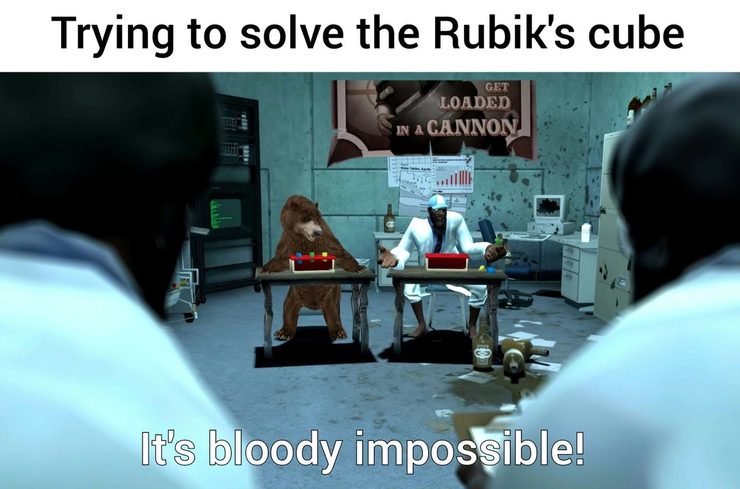 How the fuck do you solve it?! - meme