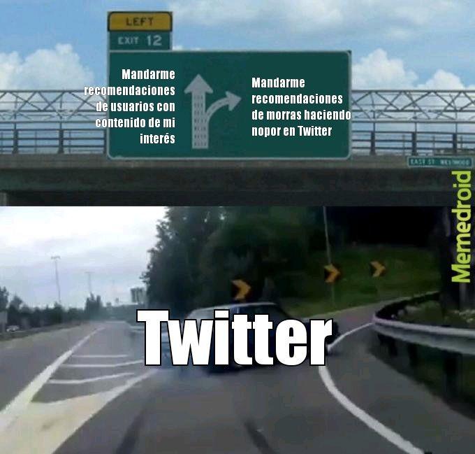 Es en serio, Twitter no ha parado de hacerlo, tuve que bloquear muchos usuarios - meme