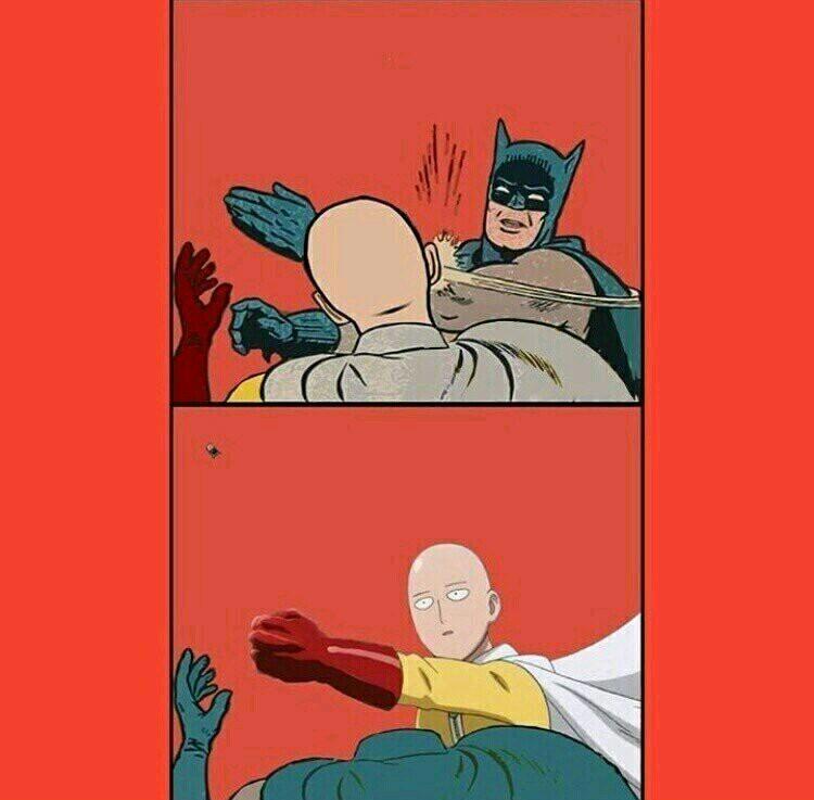 Coitado do Batman - meme
