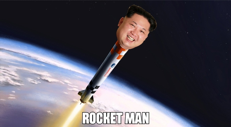 Rocket Man - meme