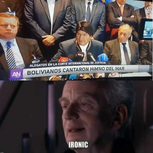 Estos bolivianos - meme