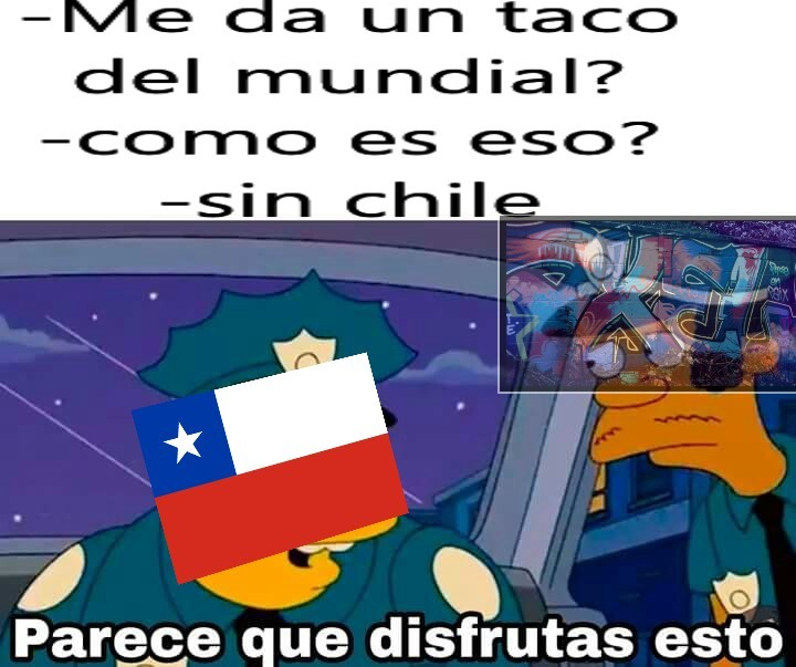 Chile triste - meme