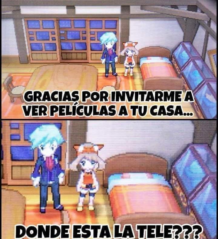 XD El pkmn rubi - meme