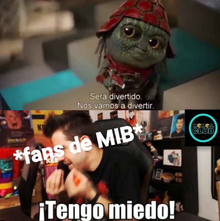 Para los que no entiendan salio en el trailer the Men In Black y se ve horrible - meme