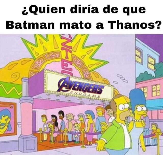 Batman vs Thanos - meme