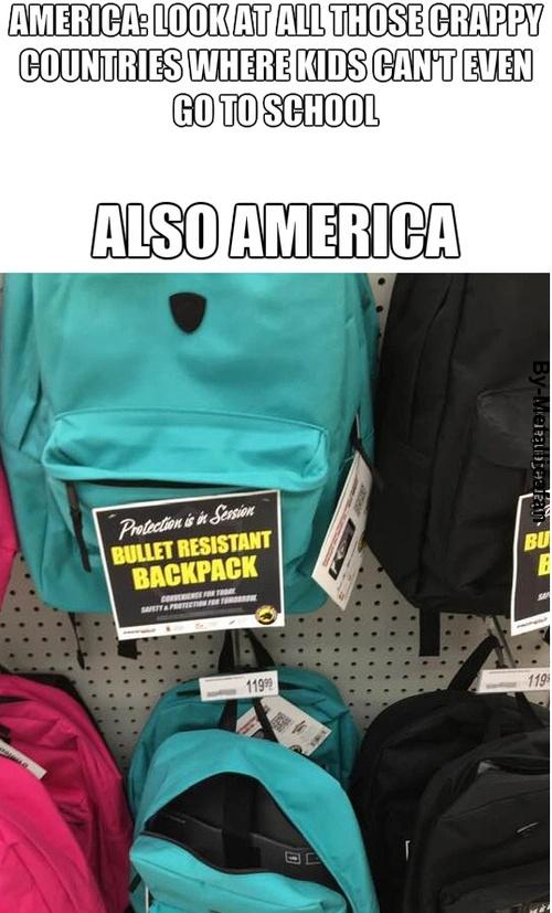 American schools - meme