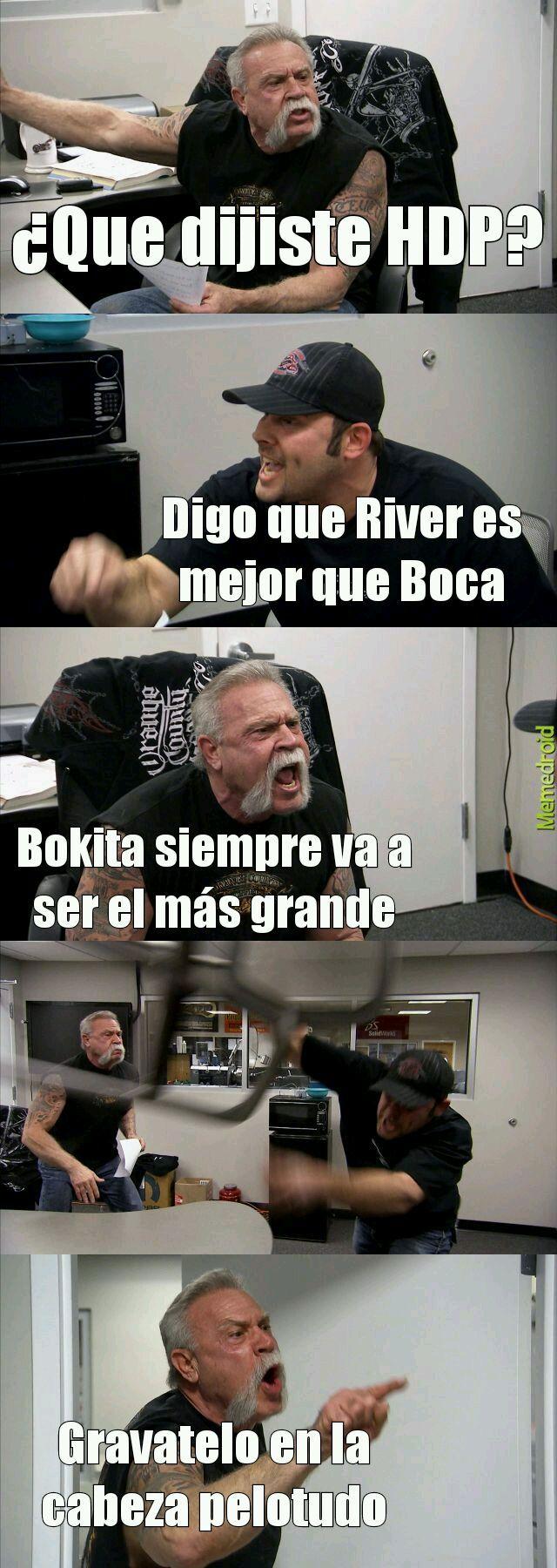 Aguante BOKITA - meme