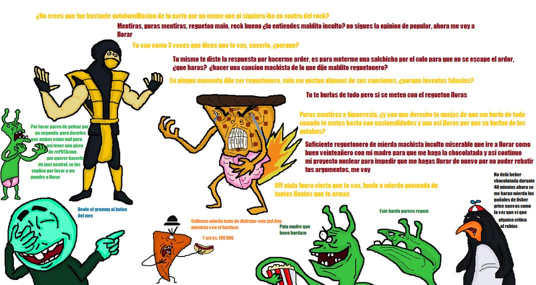 Pizza_de_salchicha in a nutshell By:Cosmic_Derp - meme