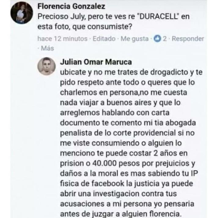 Julián Omar Maruca - meme
