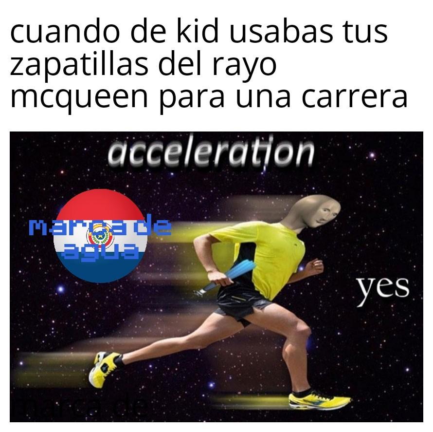 Yo soy veloz - meme