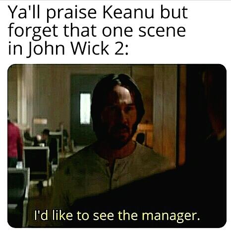 Keanu nooooo - meme