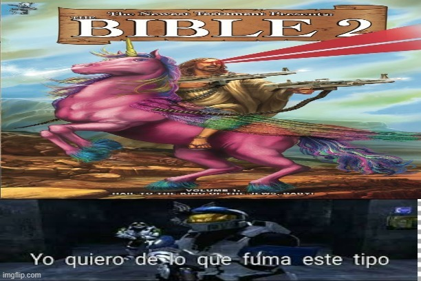 creador original de la biblia 2 IGSM_GAMEPLAYS :) - meme