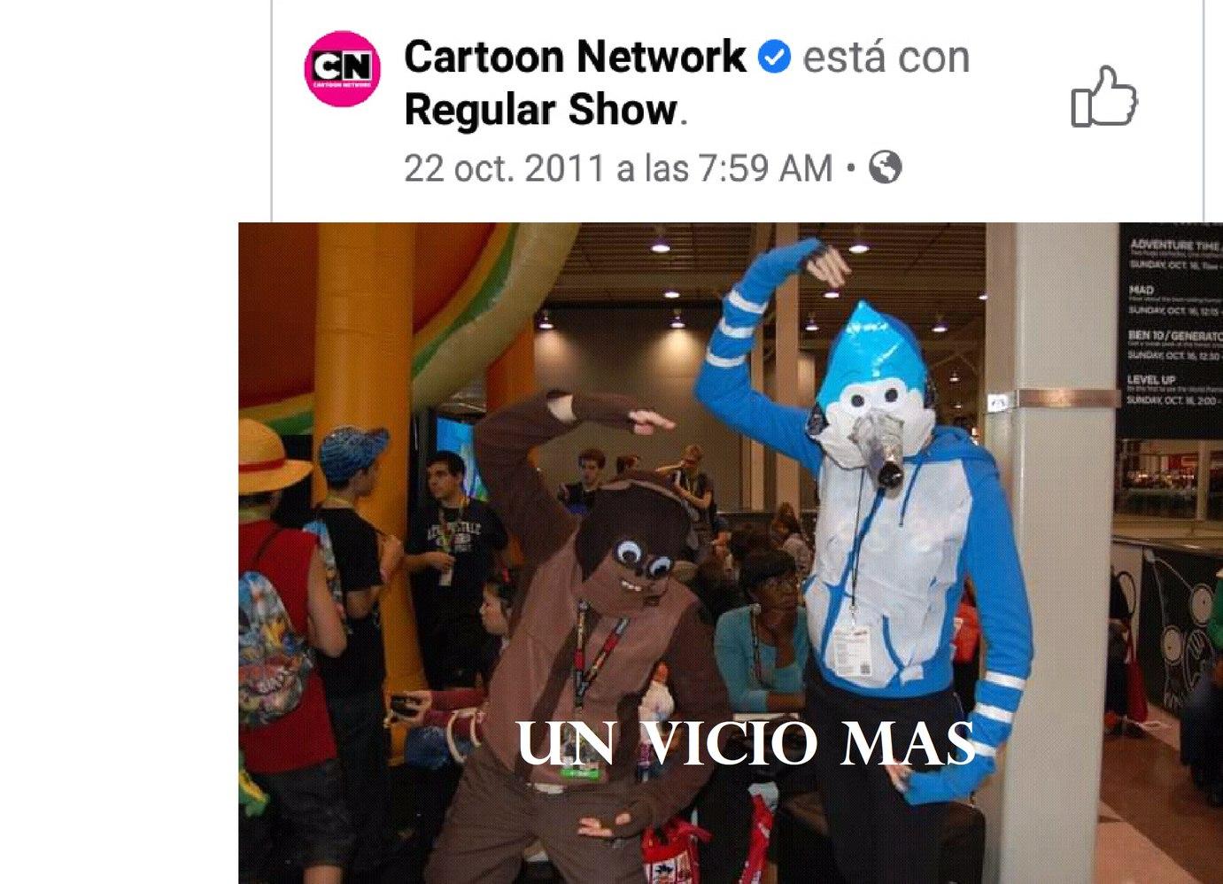 UN VICIO MAS - meme