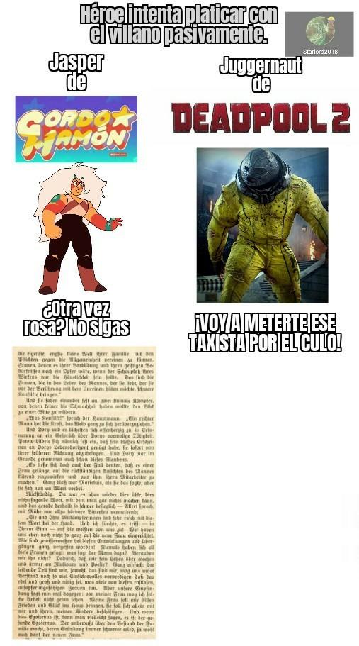 Deadpool 2 - meme