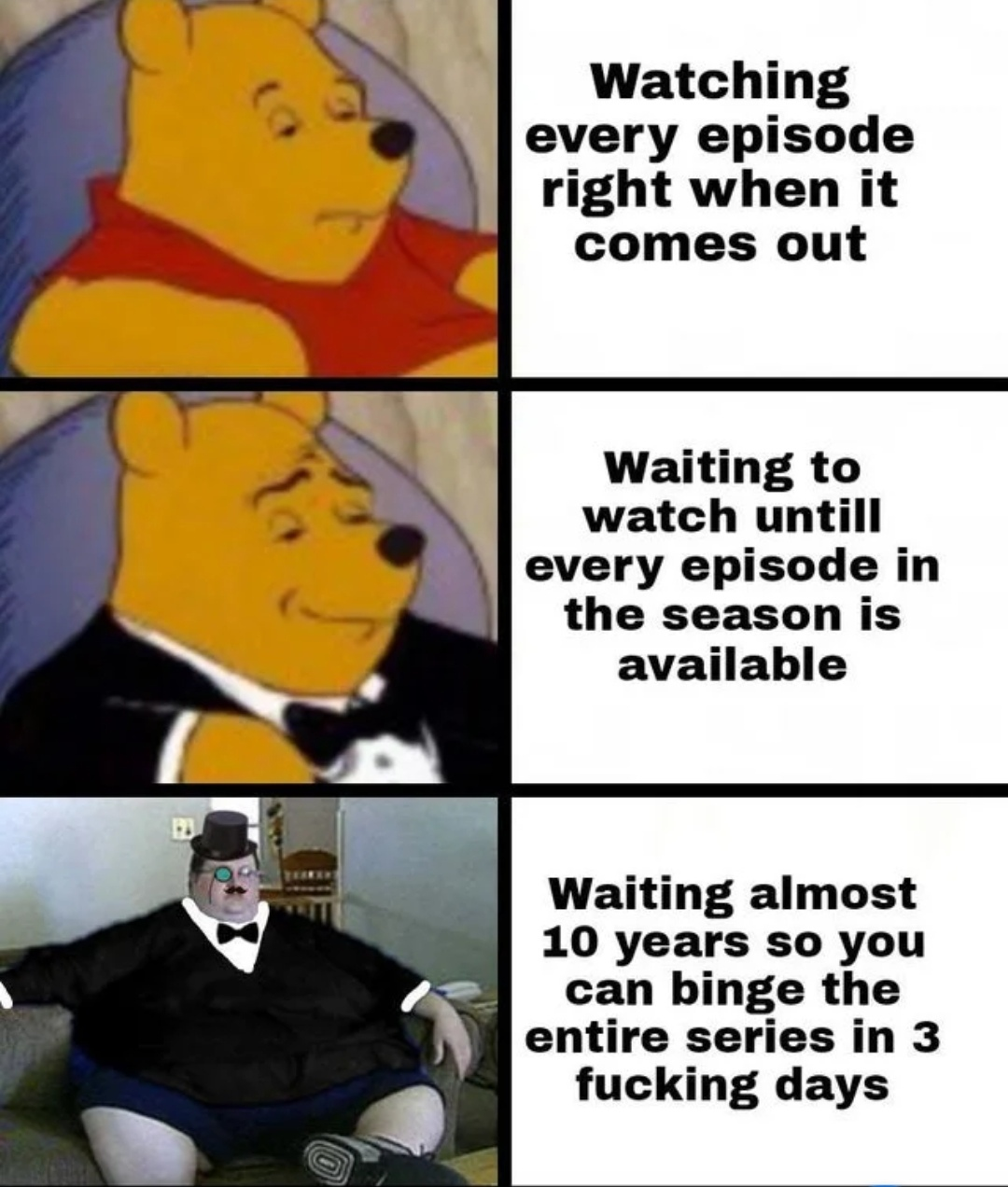 Binge Cringe - meme
