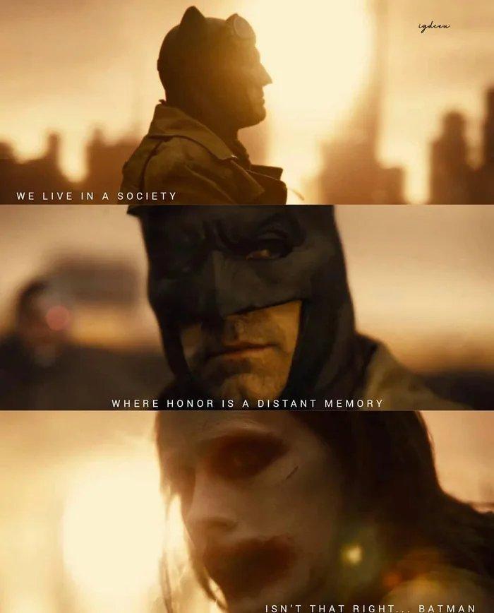 What a surprise, joker appearing in JL Snyder's cut - meme