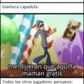 con esto no digo que hubiera jugado mal (lapadula) pero los noticieros peruanos literal se la dejan reseca :yaoming: