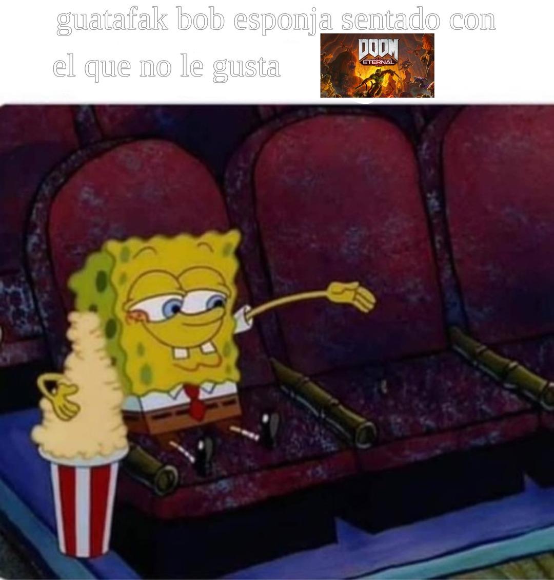 * musica de doom * - meme
