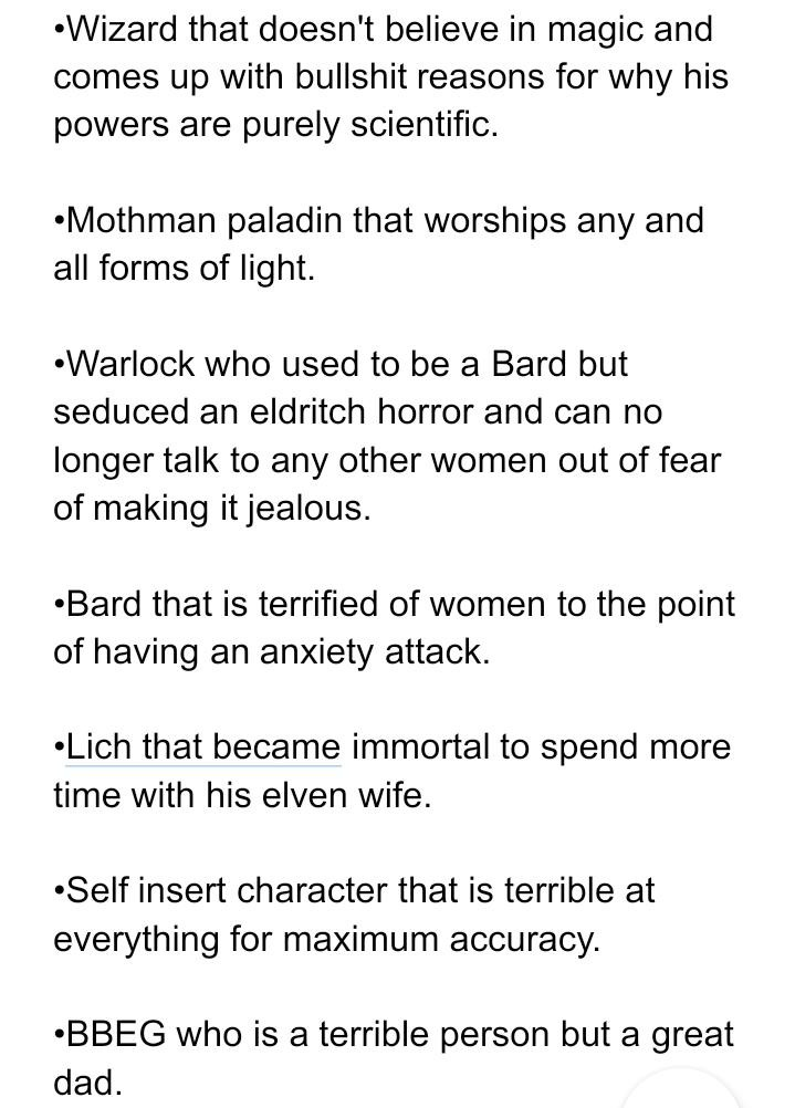 the list of shitty ideas. part 1 - meme