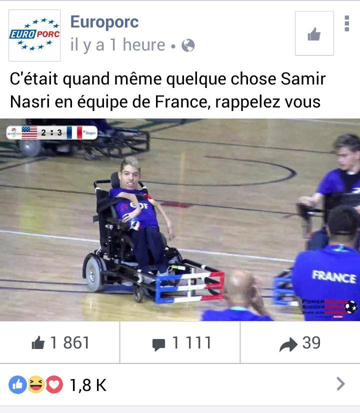 Samir Nasri, que de bons souvenirs! - meme