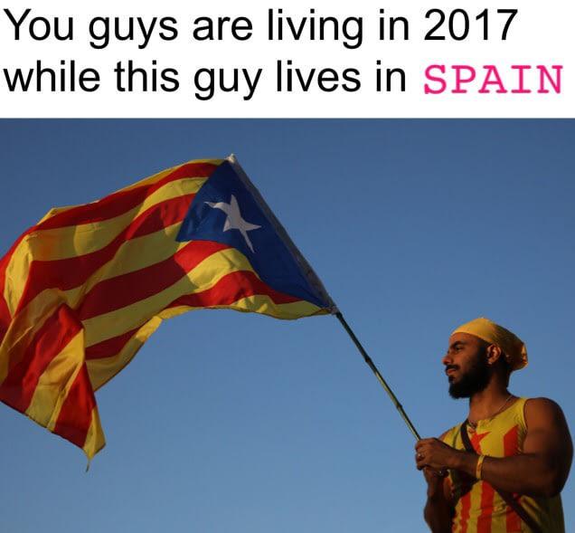 Catalonia, Spain - meme