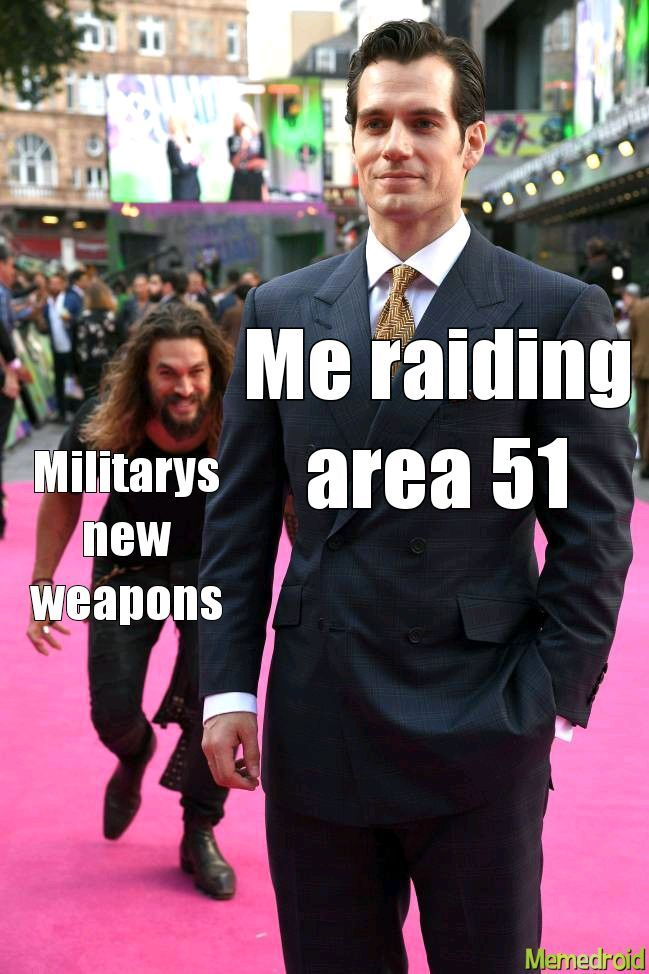 The raid is only an hour away - meme