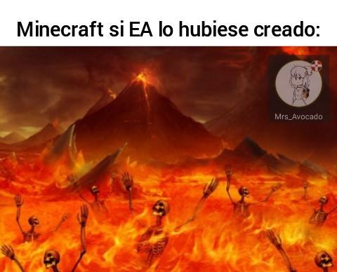 M I N E C R A F T - meme