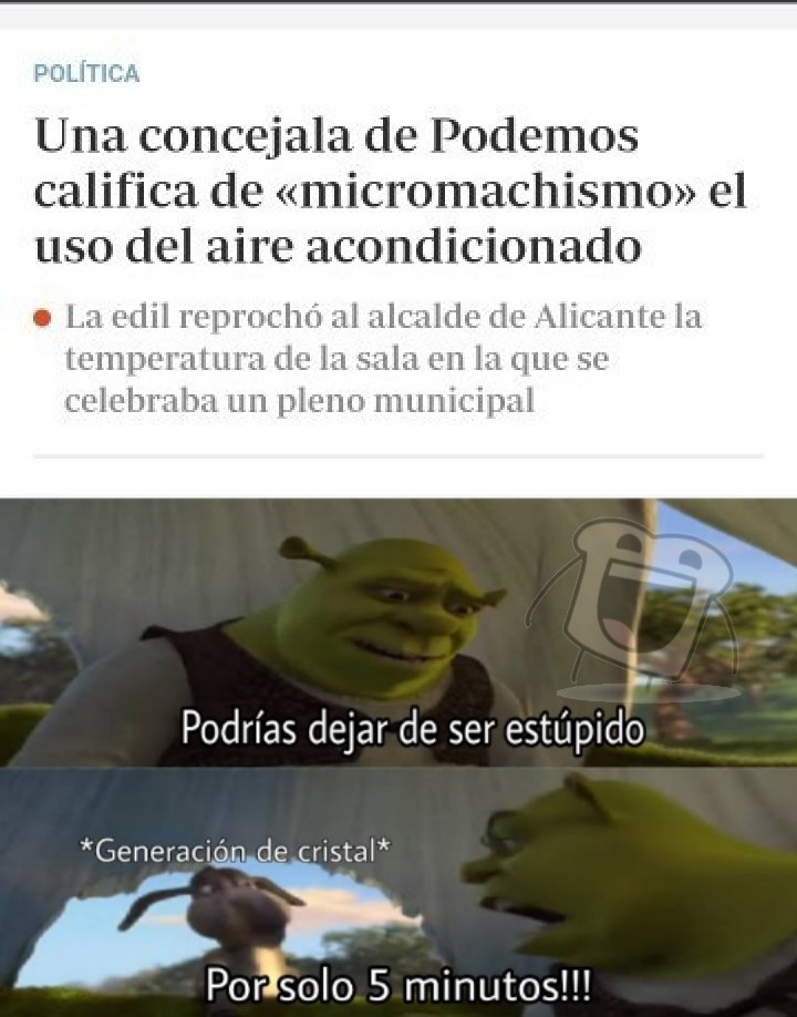 Por favor, Saquenme de España - meme